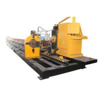 China High Accuracy CNC Steel Pipe Cutting Machine 8 Axis For Mechanical Engineering Industry for sale