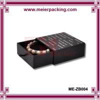 Fancy jewelry paper drawer box/Necklace earring bracelet jewelry gift box ME-ZB004 for sale