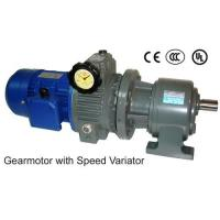 Buy cheap Taiwan Geared Speed Reducer Motor - gearmotor with Variator from wholesalers