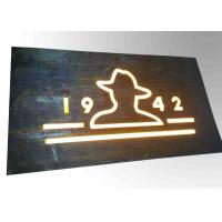 Wholesale Custom Resin Illuminated Wooden Signs Wall Mounted Decoration Bar Sign Used from china suppliers