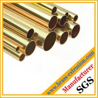 Wholesale shinny brass copper round tube from china suppliers