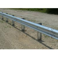 Wholesale Customized Traffic Guard Rails , Highway Crash Barrier With Protective Coating Layer from china suppliers