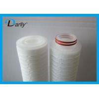 Best Disposable Pleated water cartridge micro cartridge filter for water filter wholesale