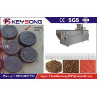 Wholesale Stainless Steel Fish Food Extruder Machine , Floating Fish Feed Making Machine from china suppliers