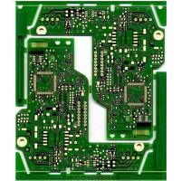 Wholesale Green Double Sided FR4 HDI PCB 0.5OZ - 3 oz Copper Thickness 2 Layer PCB Board from china suppliers
