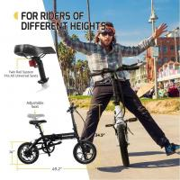 Wholesale Folding Smart Electric Bicycle With High Strength 6061 Aluminum Alloy Material from china suppliers