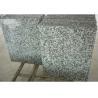 Solid Surface Granite Stone Floor Tiles , Gray Natural Granite Stone Slabs for sale