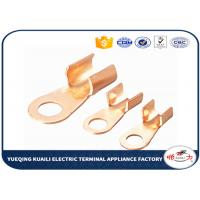 Wholesale Tin Plated Copper Cable Lugs OT Series / Electrical Terminal Lugs from china suppliers