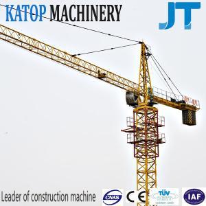10t loading capacity QTZ200(7020) tower crane for building