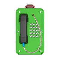 China Tunnel Weatherproof Analog Phone Moisture Resistant With Flashing Beacon on sale