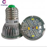 Wholesale Aluminum 6W LED Flowering Grow Lights 50000H 85V-265V High Luminous Efficiency from china suppliers