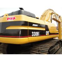 Wholesale CAT 330 Second Hand Excavators 750mm Shoe Size With 1.5m3 Bucket Capacity from china suppliers