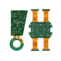 China Verious types rigid flexible pcb Green Sodermask with quick delivery on sale