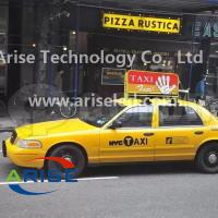 Wholesale Double sided P5 Taxi top advertising display P4 Taxi LED banner signs P5 TAXI LED Display from china suppliers