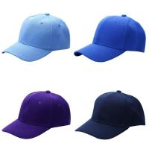 Buy cheap Men Women New Plain Solid Acrylic Color Baseball Cap Curved Visor Hat Cap from wholesalers