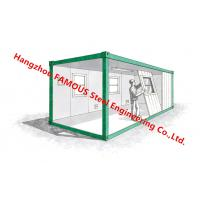 Buy cheap Light Steel Structure Flat Pack Container Conversion Units And Shipping Mobile from wholesalers