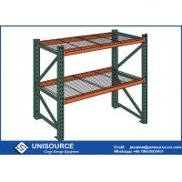 Wholesale Green Heavy Duty Storage Racks Unisource Industrial With Solid Steel Frames from china suppliers