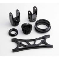 Wholesale Custom Black Anodized Aluminium CNC Machining small turned parts from china suppliers