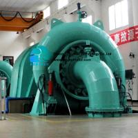 Plant  Electricity Generator Fully Automated Configuration Unattended 400kw - 15mw Hydro Turbine For Hpp   for sale