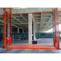 Wholesale Portable Hydraulic Warehouse Cargo Lift Vertical Guide Rail Cargo Lift from china suppliers