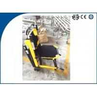 Wholesale Stainless Steel Automatic Drive Emergency Stair Chair For Disabled , Yellow from china suppliers