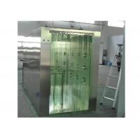 China PVC Curtain Door Clean Room Air Shower SUS 304 Material Cabinet for sale