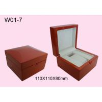 Wholesale Promotion Personalized Watch Boxes, Glossy Painting Wooden Watch Packaging Box from china suppliers
