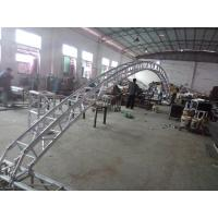Wholesale Black 300*300*12m Length Arch Spigot Connection Aluminum Stage Truss Strong Loading Capacity from china suppliers