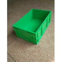 Wholesale Virgin Polyethylene Green Stackable Plastic Storage Containers 600*400*230mm Standard Size Conveyor And Sorting System from china suppliers