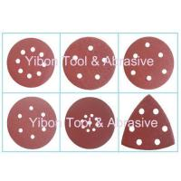 Wholesale Various Shape Wolf abrasive paper velcro disc from china suppliers