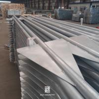 China 40mm Diameter Metal Fence Posts 2.0mm Wall Thickness High Strength ISO9001 on sale