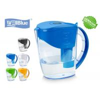 3.5L BPA Free Alkaline Mineral Water Filter Pitcher With Brita Classic Filter for sale