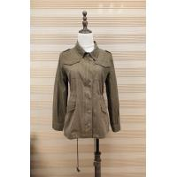 China Ladies 100% Cotton Washed Jacket Five Different Color With Front Pocket for sale