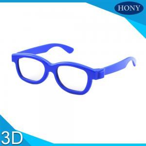 Best Cinema Reald 3D Polarized Glasses For Kids , ABS Frame 0.19-0.38mm lens wholesale