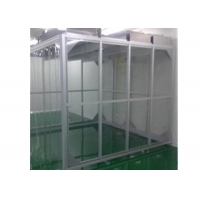 Buy cheap Aluminum Profile GMP Clean Booth / Simple Softwall Clean Room For Pharmacy from wholesalers