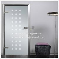 Wholesale China etching/sandblasted/acid etched glass for Glass walls/Glass Partitions/galssdoor from china suppliers