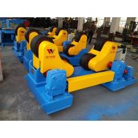 Adjustable Self Aligned Welding Rotator Widen Rubber Coated With Control Cabinet