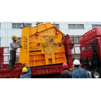 China 55kw Mining Crushing stone crusher plant 350mm / impact rock crusher on sale