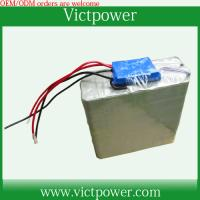 Wholesale customized battery 12v 20Ah battery packs with BMS and charger from china suppliers