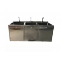 Wholesale OT Room Medical Stainless Steel Sinks With Big Bowl And Sensor Faucet from china suppliers