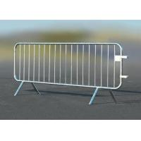 Wholesale Road Safety Crowd Barrier Control Temporary Mesh Fence 25mm Round Pipe Frame from china suppliers