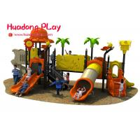 China Gym Outdoor Playground Slides Equipment For Residential Area / Kindergarten for sale