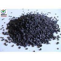 China Strong Cutting Power Black Aluminum Oxide For Metal Surface Cleaning Abrasives Media for sale