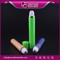 Wholesale cosmetic packaging 10ml vibrating eye cream roll on from china suppliers