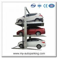 Wholesale Two Post Triple Parking Lift for 3 Cars Hydraulic Garage Storage Lift from china suppliers