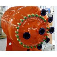 Half Pipe - coiled pipe glass lined reactor 500L , ASME Certification chemical reactor