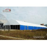 Best 20m by 100m Steel Frame White PVC Waterproof Large Storage Tents for Semi-permanent Structure wholesale