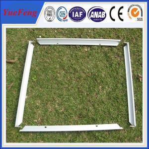 aluminium profile according to the drawing supply,aluminum extrusion for solar panel