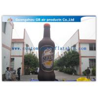 China Inflatable Advertising Signs 6m , Inflatable Alcohol Bottles For Wine Promotiom Festival on sale
