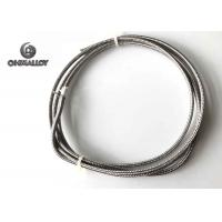 Wholesale Thermocouple Type J Extension Compansation Cable Fiberglass SS304 Sheath 24AWG from china suppliers